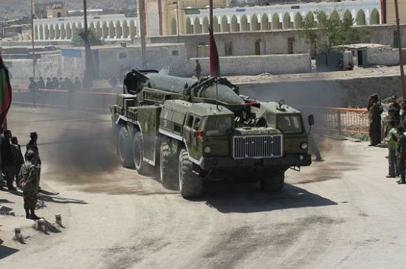 Σύστημα SCUD σε άσκηση με πύραυλο τύπου SCUD-Β που διεξήχθη στις 4 Δεκεμβρίου από τον Συριακό Στρατό (Πηγή Ynetnews )