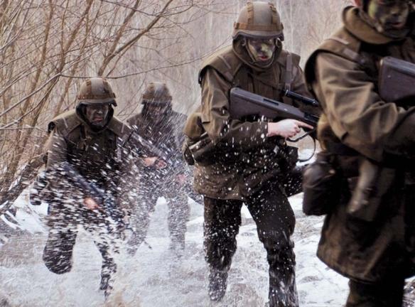 Στιγμιότυπα από την εκπαίδευση Αυστραικών Στρατιωτών (Πηγή militaryimages.net)