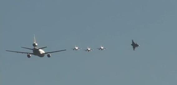 Άφιξη 4 Gripen στην Nellis AFB για τη συμμετοχή στη φετινή άσκηση Red Flag