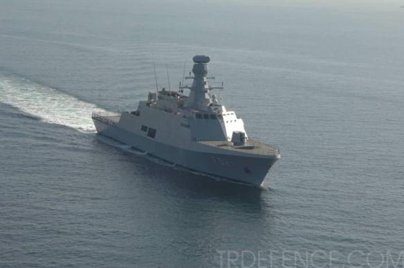 Το 1ο πλοίο του προγράμματος Mil Gem σε δοκιμές εν πλω ( Πηγή TRDEFENCE.COM )