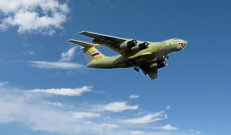 Αεροσκάφος IL 476 σε πτητικές δοκιμές