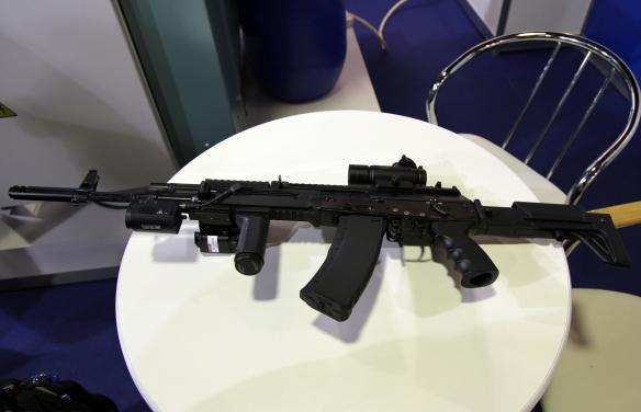 To AK 12 στο διεθνές συνέδριο Μηχανικής-Τεχνολογίας το 2012 (Πηγή vladimir)