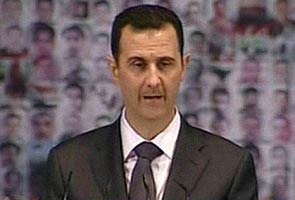 Ο πρόεδρος Bassar Al Assad Σε ομιλία του στις 29-5