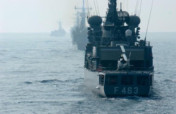 Η φρεγάτα Μπουμπουλίνα κλάσεως S στην άσκηση NAC SEA DAY(Πηγή ΝΑΤΟ)