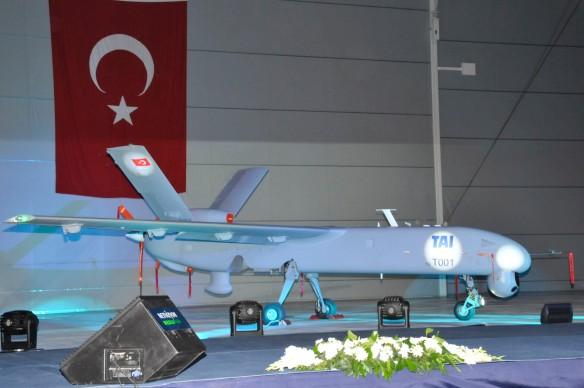 Το UAV ANKA σε στατική έκθεση