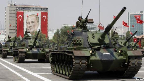 turkish army parade