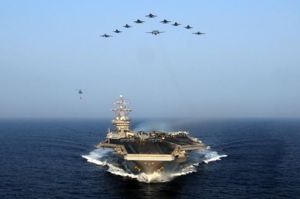 Ο έκτος στόλος που περιπολεί στην Ανατολική Μεσόγειο βρίσκεται ένα βήμα πριν εμπλακεί ενεργά στη Συρία (Πηγή theaviationist.com)