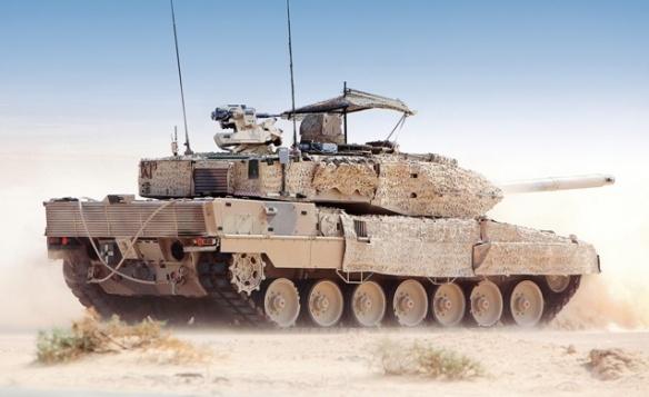 Συνολικά 62 άρματα μάχης Leo 2 A7 θα κατασκευαστούν για λογαριασμό του Κατάρ