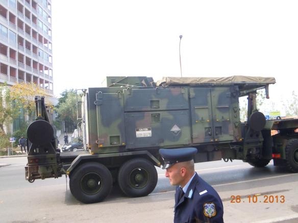 Το ραντάρ διάταξης φάσης τους συστήματος Hi-SAM Patriot