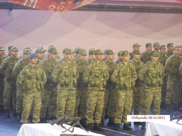 Τελετή ορκομωσίας νέων στρατιωτών