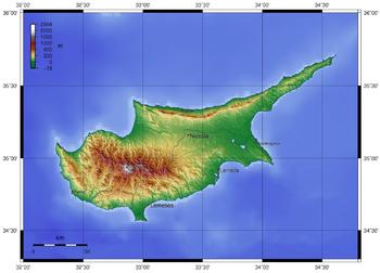 Το όρος Όλυμπος στην καρδιά της Κυπριακής Δημοκρατίας, σύνορο ανάσχεσης αλλά και δύσβατη περιοχή για αποστολή ενισχύσεων