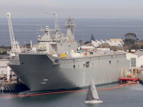 H εξαιρετικά επιτυχημένη σχεδίαση ελικοπτεροφόρου LHD Juan Carlos I έχει ήδη επιλεγεί και για το αυστραλιανό πρόγραμμα ναυπήγησης LHD