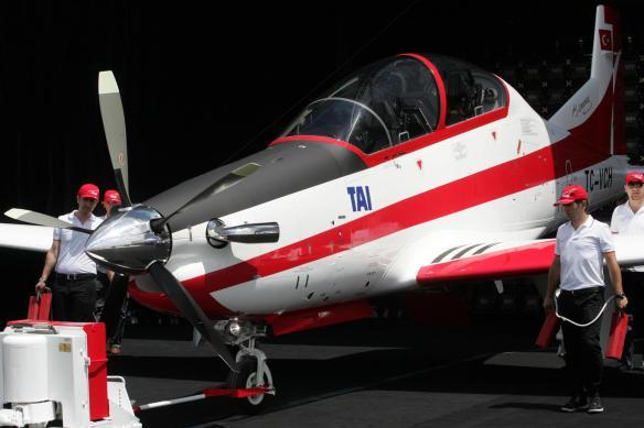 Το Hurkus B το νέο βασικό εκπαιδευτικό αεροσκάφος της THK