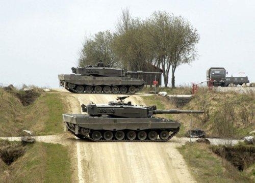 Το σύνολο των 339 Τουρκικών αρμάτων μάχης Leo2 A4  βρίσκονται δίπλα στο μέτωπο του Εβρου