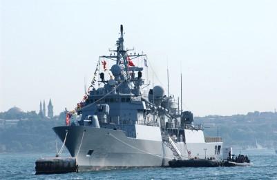 Η ναυαρχίδα του Τουρκικού Στόλου η φρεγάτα F246 Salihreis κλάσεως ΜΕΚΟ 200 Track IIB