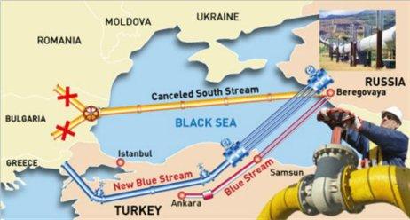 Turkish Stream MAP 1