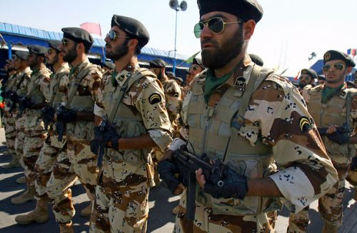 Iranian soldiers march during the annual military parade on September 22,2010 in Tehran,Iran that mark the beginning of the 1980-1988 war between Iran and Iraq. UPI/Maryam Rahmanian