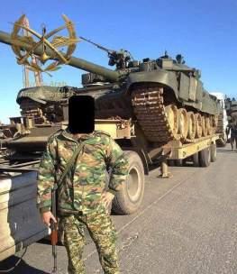 Παράδοση αρμάτων μάχης T-90A σε Συριακά Στρατεύματα