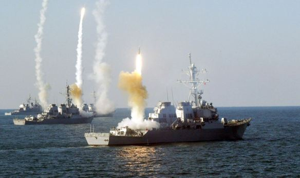 US-Launches-Tomahawk-Missile-Air-Strike-on-Syria