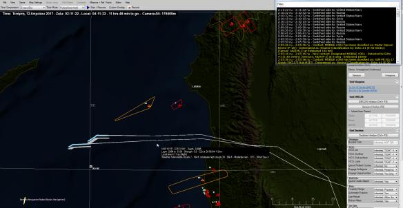 Tomahawks 40 nm to shore