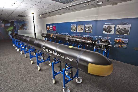 SEAHAKE Mod 4 ER long-range torpedo